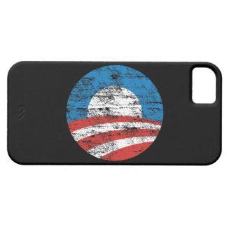 Caja apenada logotipo del compañero del caso del iPhone 5 funda