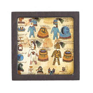 Caja azteca del tributo