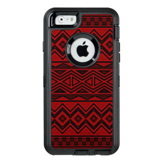 Caja azteca roja del iPhone 6/6s Otterbox Funda OtterBox Defender Para iPhone 6