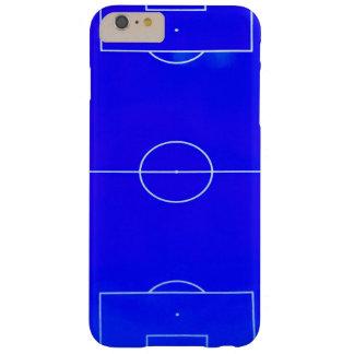 Caja azul brillante del iPhone 6S del campo de Funda Barely There iPhone 6 Plus