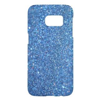 Caja azul clara del teléfono de la galaxia S7 de Funda Samsung Galaxy S7