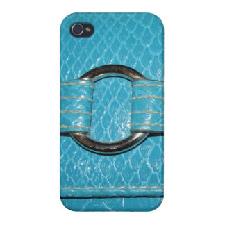 Caja azul de Croc Iphone4 iPhone 4 Carcasa