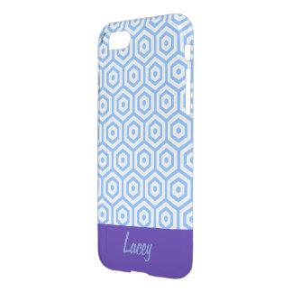 Caja azul de IPhone 7 del modelo del diseño del Funda Para iPhone 7