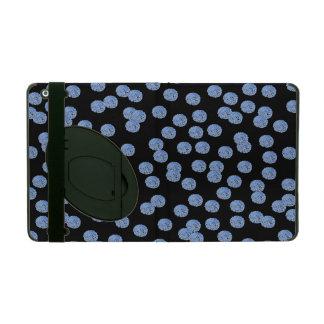 Caja azul del iPad 2/3/4 de los lunares con iPad Protectores