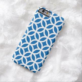 Caja azul del iPhone 6 del deslumbramiento Funda De iPhone 6 Barely There