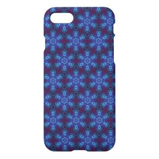Caja azul del iPhone del fractil Funda Para iPhone 7