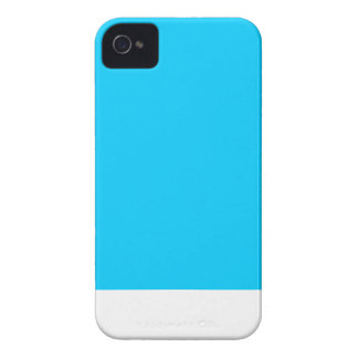 Caja azul del iPhone del helado iPhone 4 Carcasas