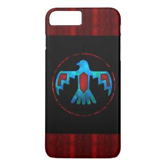 Caja azul del teléfono de Thunderbird Funda Para iPhone 8 Plus/7 Plus