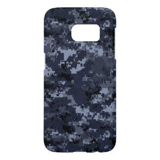 Caja azul militar de la galaxia s7 de los E.E.U.U. Funda Samsung Galaxy S7