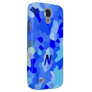 Caja azul simple de la galaxia S4 de Samsung del Funda Para Galaxy S4