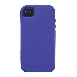 Caja azul sólida de la casamata del iPhone 4/4S iPhone 4/4S Funda