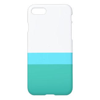 Caja azul y blanca de Iphone 7 del diseño de la Funda Para iPhone 7