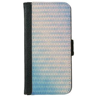 Caja azul y rosada del teléfono de la cartera del