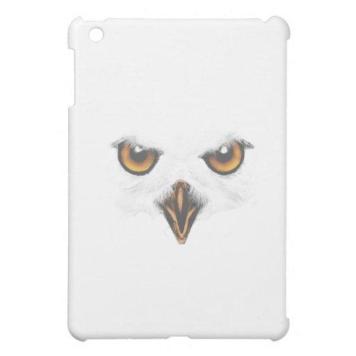 Caja blanca del iPad del búho