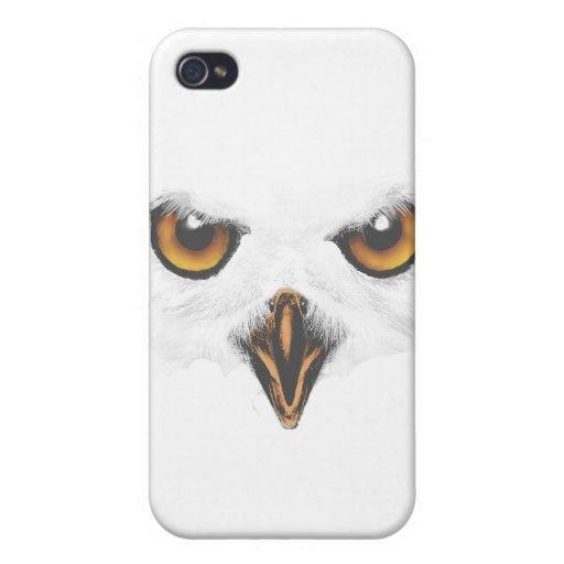 Caja blanca del iPhone 4/4S del búho iPhone 4 Protector