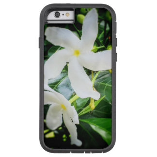 Caja blanca del iPhone 6 de la flor de molinillo Funda Tough Xtreme iPhone 6