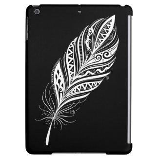 Caja blanco y negro de la pluma