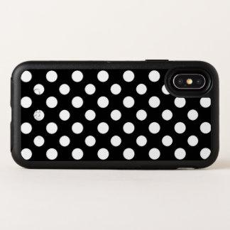 Caja blanco y negro del iPhone X del modelo de