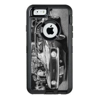 Caja blanco y negro del teléfono de Camaro Funda Otterbox Para iPhone 6/6s