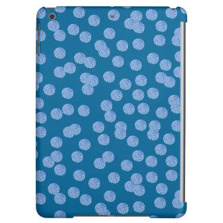 Caja brillante del aire del iPad de los lunares