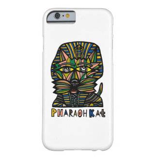 """Caja brillante del teléfono del Kat del Pharaoh"" Funda Barely There iPhone 6"