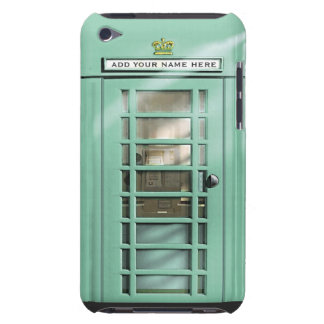 Caja británica del teléfono de la verde menta dive iPod touch Case-Mate protector