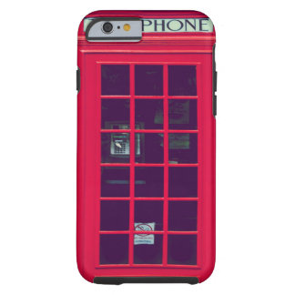 Caja británica original del teléfono funda de iPhone 6 tough