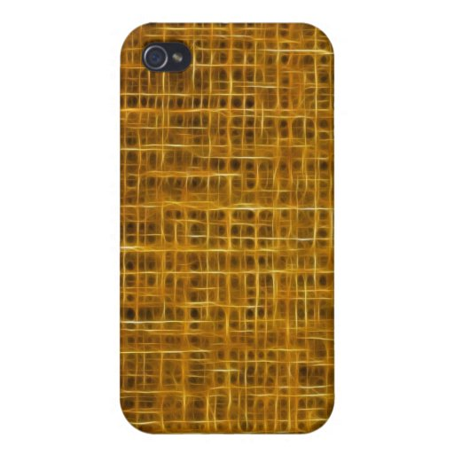 Caja caliente de la mota del iPhone de la textura  iPhone 4/4S Carcasa