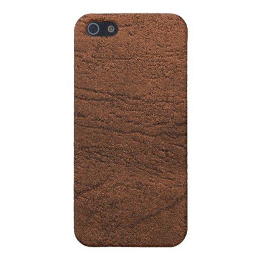 Caja caliente de la mota del iPhone de la textura  iPhone 5 Carcasas