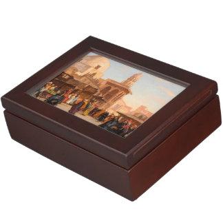 Caja clásica del recuerdo de El Cairo