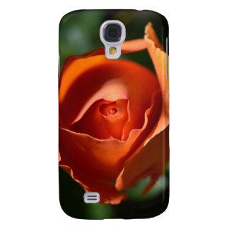Caja color de rosa anaranjada de la galaxia S4 de  Funda Samsung S4