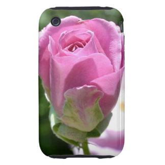 Caja color de rosa romántica del brote iPhone3G Carcasa Though Para iPhone 3