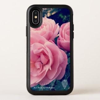 Caja color de rosa rosada de Iphone X de las almas