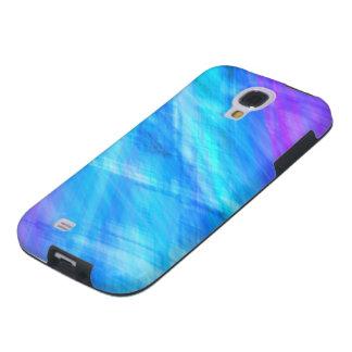 Caja congelada azul de la galaxia S4 de Samsung Funda Galaxy S4