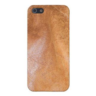 Caja cosida de la mota del iPhone de la textura 8  iPhone 5 Cárcasa