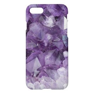 Caja cristalina púrpura de Iphone Funda Para iPhone 7