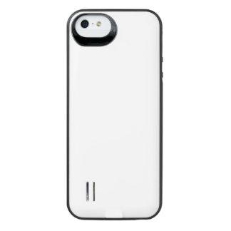 Caja de batería infrecuente de la galería del funda para batería para iPhone SE/5/5s