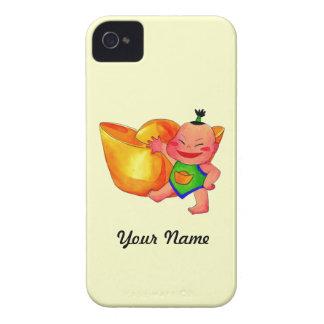 Caja de Blackberry de la casamata de la Feliz Año iPhone 4 Case-Mate Carcasa