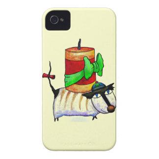 Caja de Blackberry de la casamata de la Feliz Año iPhone 4 Case-Mate Cárcasas