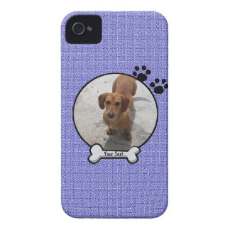 Caja de Blackberry del perro casero Case-Mate iPhone 4 Cárcasa