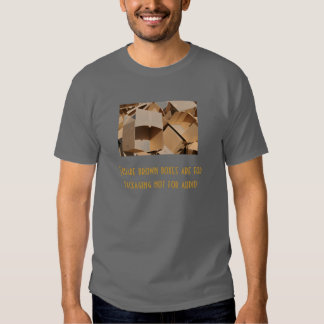 Caja de Brown Camisetas