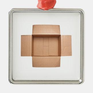 Caja de cartón acanalado Opened Adorno De Cerámica