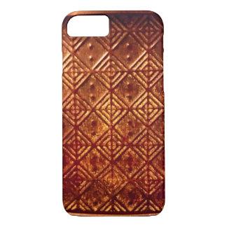 Caja de cobre envejecida sellada de Iphone 6 del Funda iPhone 7