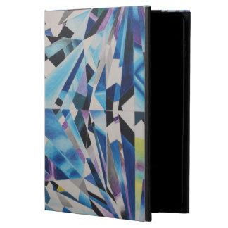 Caja de cristal del aire 2 del iPad del diamante