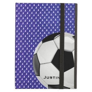 Caja de encargo del aire del iPad del fútbol