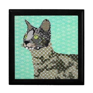Caja de gato de la sabana caja de regalo