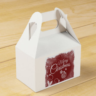 Caja de Goodie de las Felices Navidad