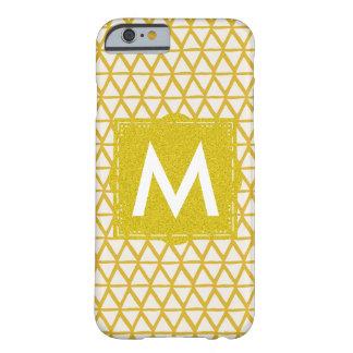 Caja de Iphone del monograma personalizada con Funda Barely There iPhone 6