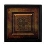 Caja de joyería céltica hermosa caja de regalo
