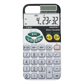 Caja de la calculadora funda para iPhone 8/7